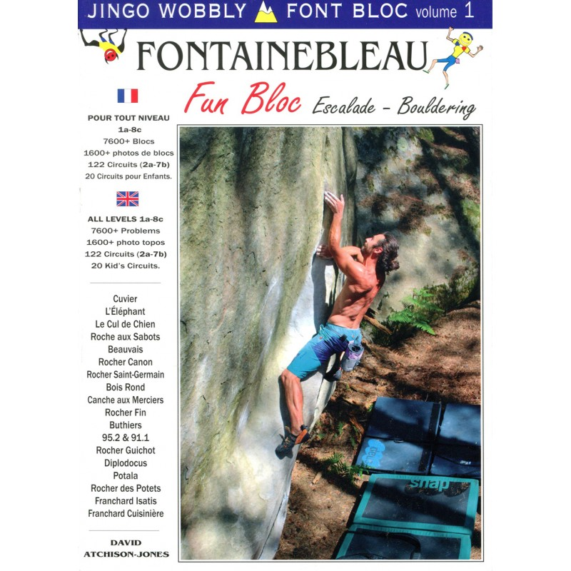 Boulderführer Fontainebleau Fun Bloc