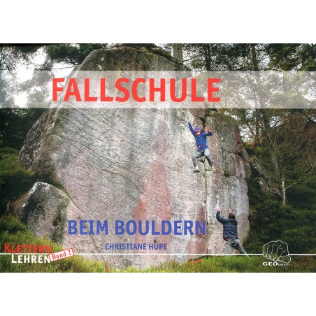 Lehrbuch Fallschule beim Bouldern