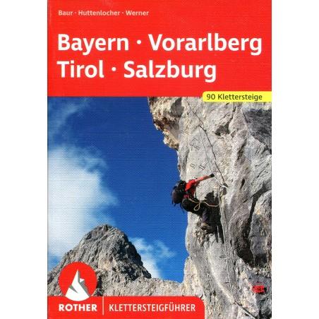 Klettersteigführer Bayern, Vorarlberg, Tirol, Salzburg
