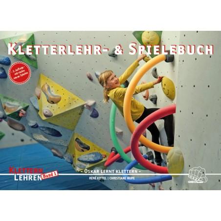 Kletterlehr- & Spielebuch Oskar lernt klettern