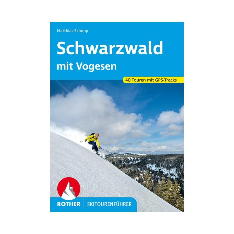 Skitourenführer Schwarzwald mit Vogesen